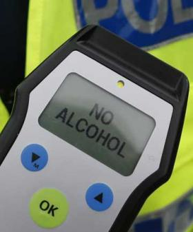 drink drive breath test limit alcohol